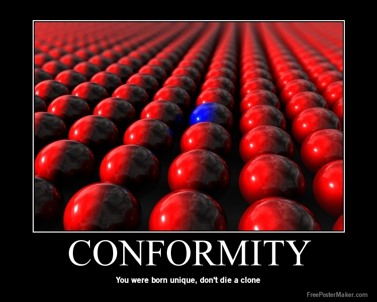 totalitarian world conformity is necessary for Totalitarianism & world war 2 study play totalitarianism  key traits of totalitarian leaders state control of individual, harsh methods of enforcement, modern technology (guns and nuclear bombs) , state control of society, dictatorship and one-party rule, being a dynamic leader and ideology  also important industrial area hitler.