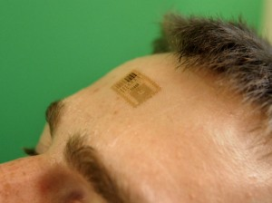 wearable forehead tech