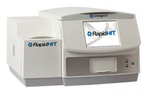 The RapidHIT 200 can generate a DNA profile in about 90 minutes.