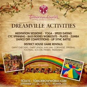 dreamville activities
