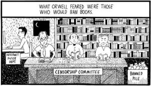 censorship orwell-vs-huxley-1